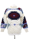 Womens Totally 80s Style Ski Sweater