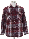 Mens Grunge Flannel Cpo Shirt Jacket