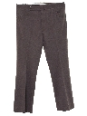 Mens Flared Mod Leisure Style Golf Pants