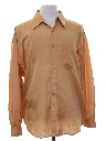Mens Solid Disco Style Club or Rave Shirt