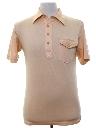 Mens or Boys Knit Golf Shirt