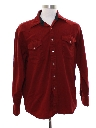 Mens Pendleton Wool Western Shirt