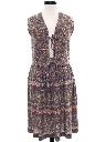 Womens Jersey Knit Hippie Skirt Set