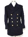 Mens Pea Coat Jacket