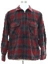 Mens Pendleton CPO Flannel Shirt Jacket