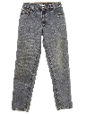 Womens Grunge Levis 550 Relaxed Tapered Leg Denim Jeans Pants