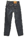 Womens Levis Slight Taper Cut Straight Leg Jeans Pants