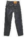 Womens Levis Slight Taper Cut Straight Leg Jeans Pants
