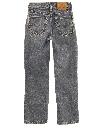 Womens/Girls Levis 550 Relaxed Straight Leg Denim Jeans Pants