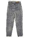 Womens Tapered Leg Jeans-cut Pants