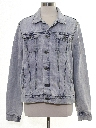 Mens Faded Denim Jacket