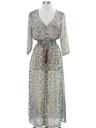 Womens Hippie Style Maxi Dress