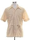 Mens Knit Hawaiian Shirt