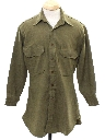 Mens Military Style Shirt
