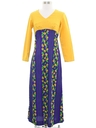 Womens or Girls Hawaiian Hippie Dress