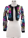 Womens or Girls Sequined Cocktail Jacket