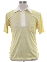 Mens Mod Pullover Golf Style Shirt