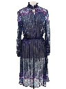 Womens Semi Sheer Disco Dress