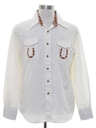 Mens Two Tone Western Shirt