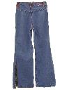 Unisex Bellbottom Jeans Pants
