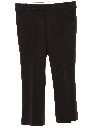 Mens Polyester Flared Leisure Pants