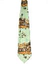 Mens Wide Mod Designer Necktie