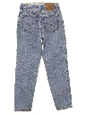 Womens High Waisted Levis 550 Relaxed Tapered Leg Denim Jeans Pants