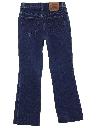 Womens Levis 517 Slight Bootcut Flared Denim Jeans Pants