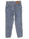 Womens High Waisted Levis 512 Slim Fit Tapered Leg Denim Jeans Pants