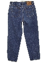 Womens High Waisted Levis 560 Loose Fit Straight Leg Denim Jeans Pants