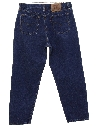 Womens High Waisted Levis 560 Relaxed Straight Leg Denim Jeans Pants