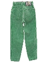 Womens Highwaisted Totally 80s Denim Mom Jeans Pants