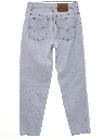 Womens High Waisted Levis 550 Relaxed Straight Leg Denim Jeans Pants