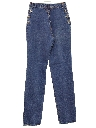 Womens Totally 80s Straight Leg Denim Jeans Pants