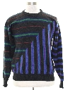 Mens Totally 80s Cosby Style Cashmere Sweater