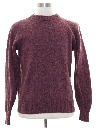 Mens Wool Blend Sweater