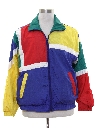 Unisex Totally 80s Hip Hop Style Windbreaker Jacket