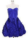 Womens Totally 80s Style Betsey Johnson Prom Dress