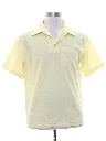 Mens Mod Knit Golf Shirt