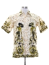 Mens Hippie Ethnic Style Shirt