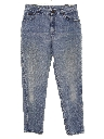 Womens Grunge Highwaisted Denim Mom Jeans Pants