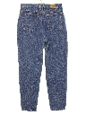 Womens Highwaisted Totally 80s Stone Washed Denim Jeans Pants