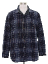 Mens Grunge Pendleton Wool Flannel Shirt