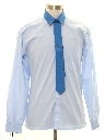 Mens Totally 80s Sport Shirt/Necktie