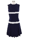Womens Mini Mod Knit Dress