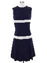 Womens Mini Mod Knit Dress