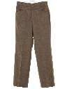 Mens Mod Wool Western Style Leisure Pants