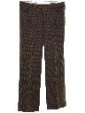 Mens Mod Wool Leisure Pants