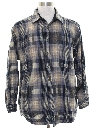 Mens Wool Flannel Pendleton Shirt