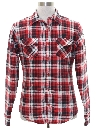 Mens or Boys Lined Flannel Shirt Jacket